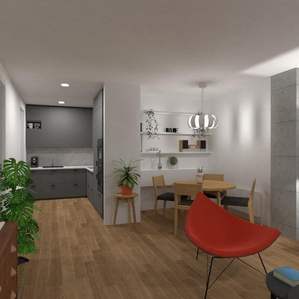 идеи квартира гостиная кухня столовая идеи