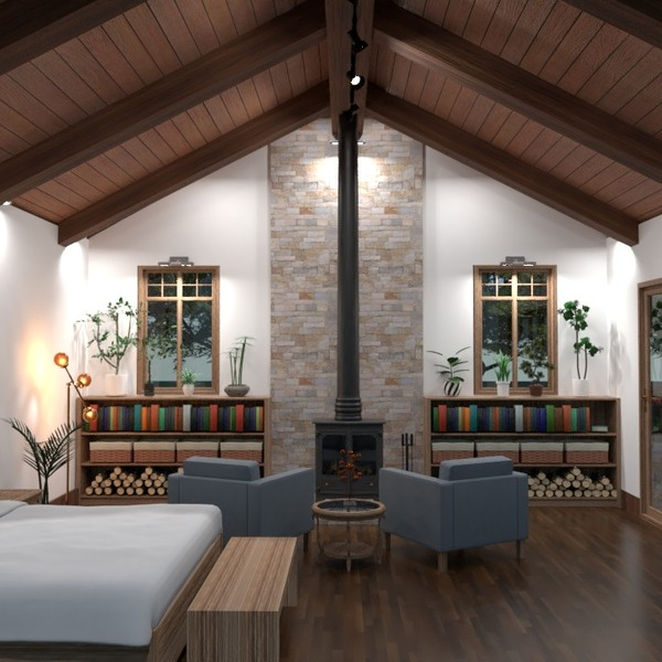 fotos casa muebles dormitorio iluminación arquitectura ideas