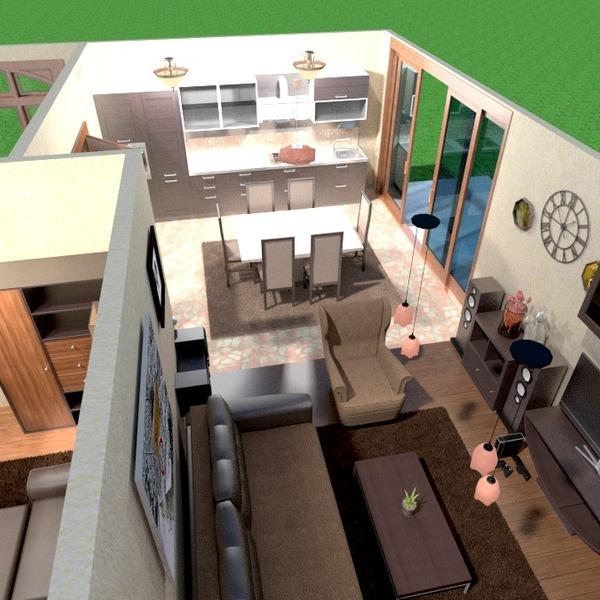 photos appartement meubles salon cuisine maison idées