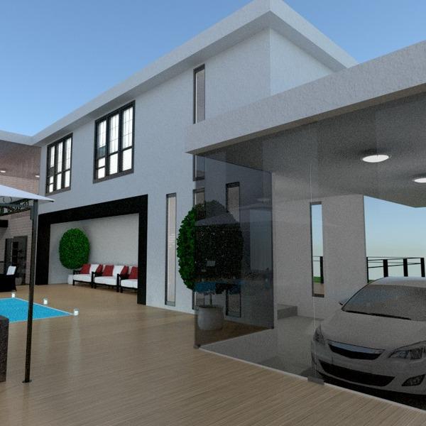 fotos casa terraza bricolaje garaje exterior iluminación hogar descansillo ideas