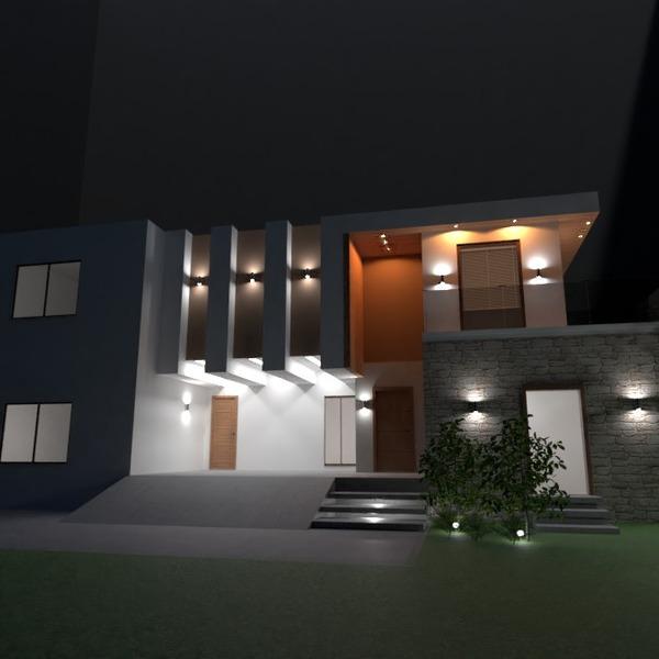 идеи дом терраса улица освещение прихожая идеи