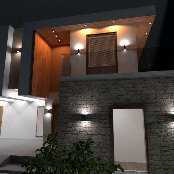 photos appartement extérieur eclairage maison entrée idées