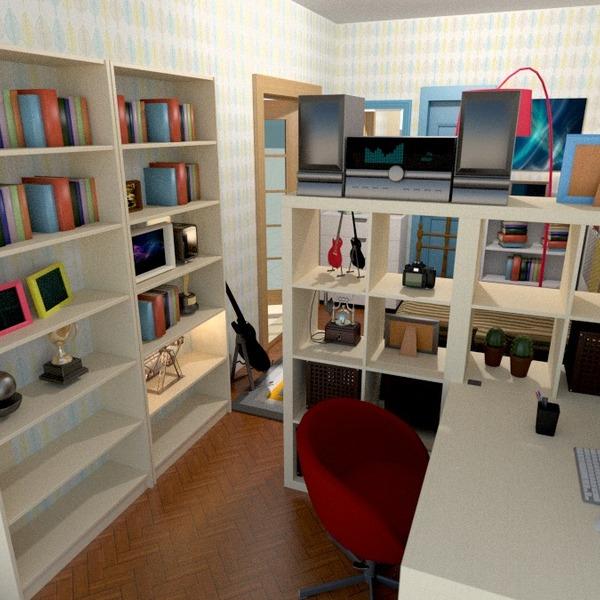 fotos apartamento decoração faça você mesmo dormitório escritório reforma ideias