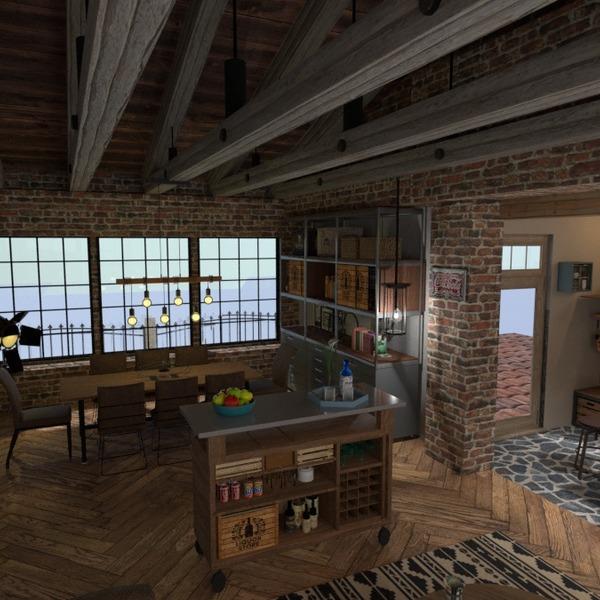 nuotraukos terasa dekoras virtuvė valgomasis idėjos