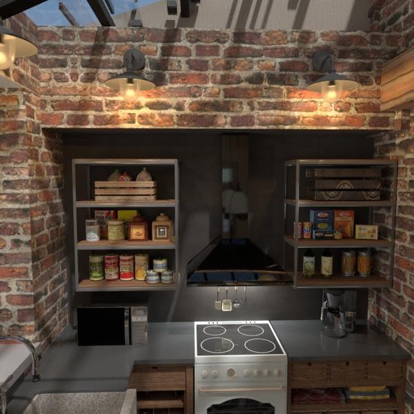 nuotraukos terasa baldai virtuvė idėjos