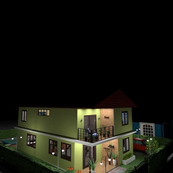 photos maison extérieur eclairage idées