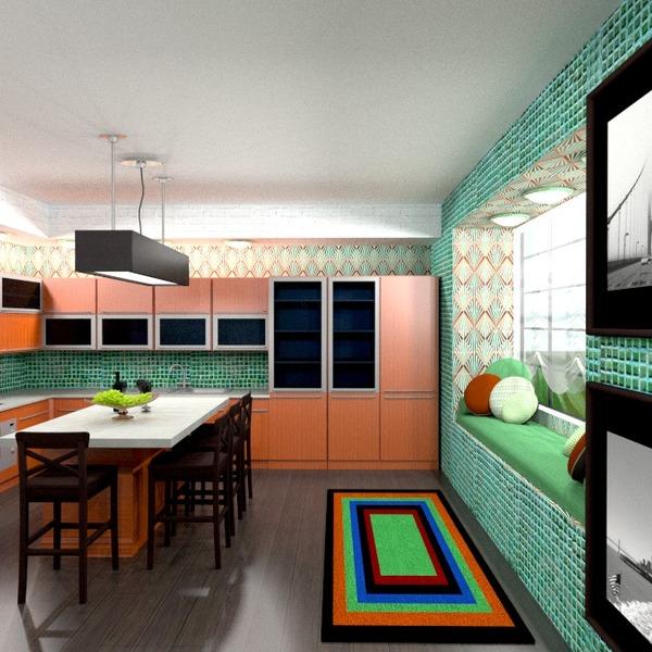 photos décoration cuisine salle à manger espace de rangement idées