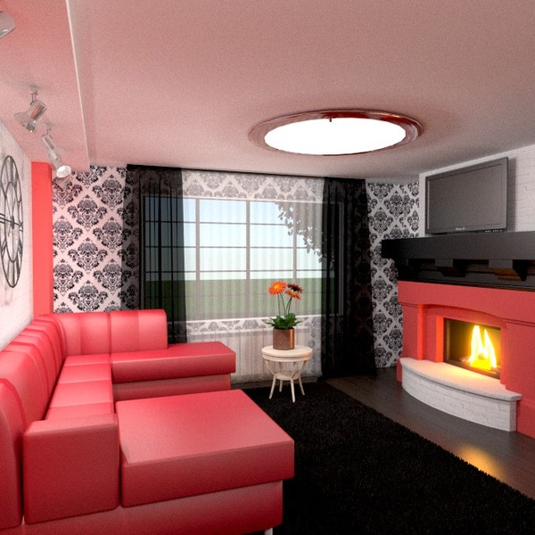 nuotraukos butas dekoras svetainė apšvietimas idėjos