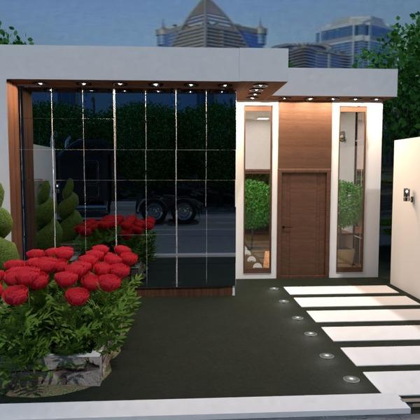 fotos casa exterior iluminación paisaje arquitectura ideas