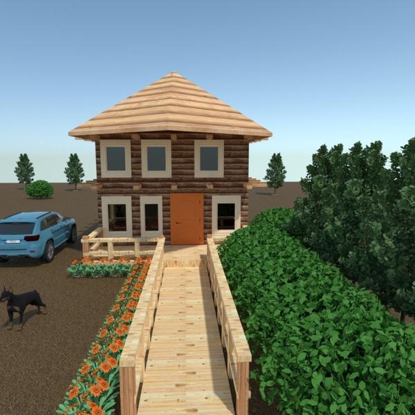 fotos casa terraza paisaje arquitectura ideas