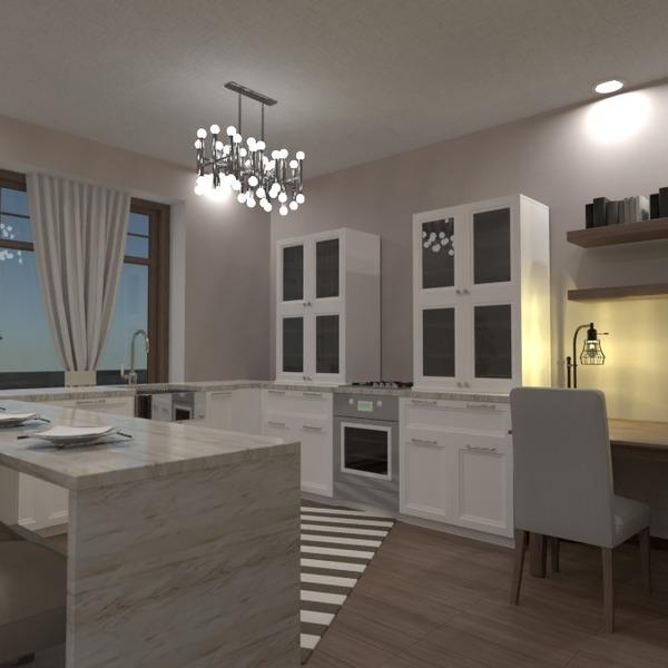zdjęcia meble wystrój wnętrz pokój dzienny kuchnia oświetlenie pomysły