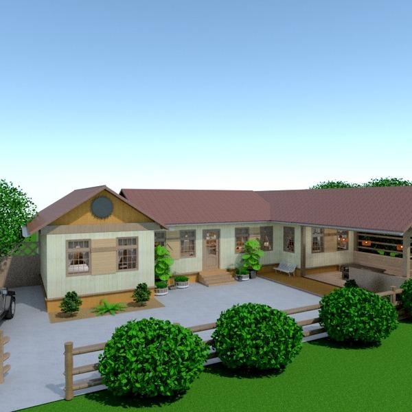 foto casa angolo fai-da-te garage esterno illuminazione paesaggio architettura vano scale idee