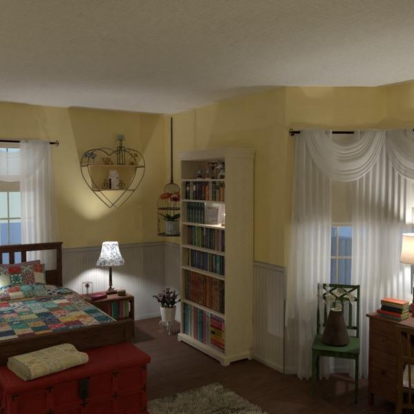 foto decorazioni camera da letto cameretta famiglia idee
