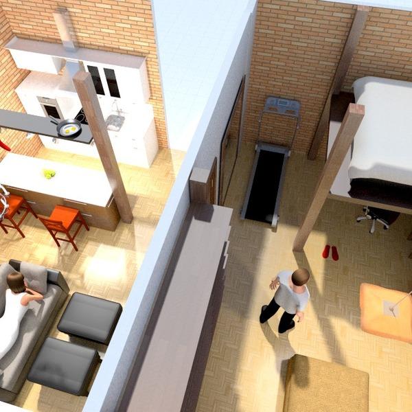 zdjęcia mieszkanie pokój dzienny kuchnia remont pomysły