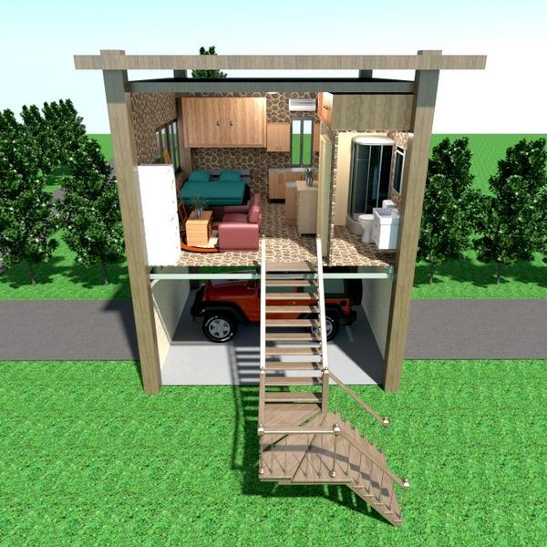 fotos apartamento casa varanda inferior mobílias decoração casa de banho dormitório quarto garagem cozinha área externa paisagismo utensílios domésticos arquitetura estúdio ideias