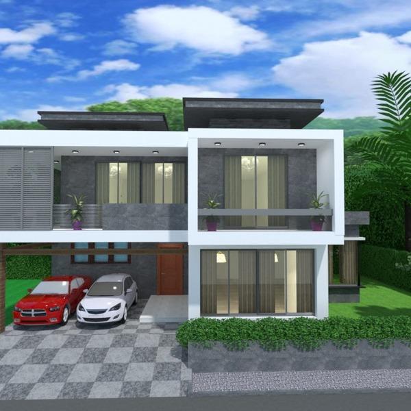 foto casa veranda decorazioni garage esterno illuminazione paesaggio architettura idee