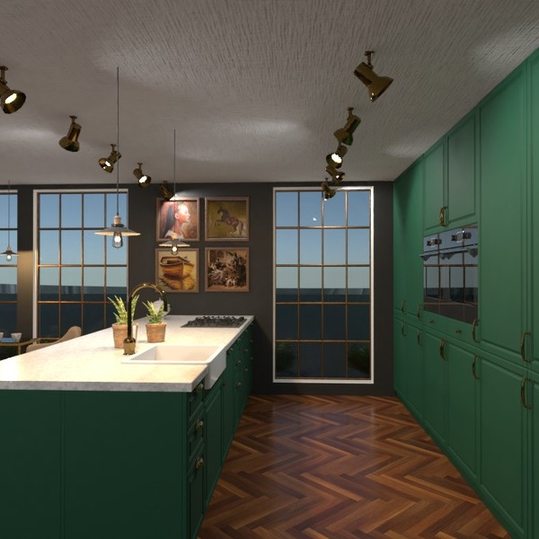 foto casa cucina illuminazione famiglia sala pranzo idee