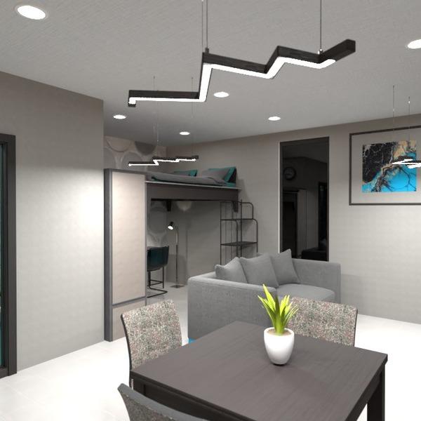 zdjęcia łazienka sypialnia pokój dzienny kuchnia mieszkanie typu studio pomysły