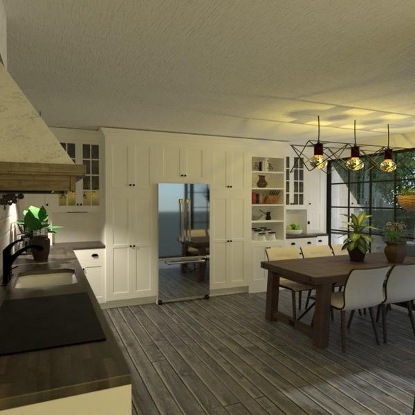 идеи дом гостиная кухня освещение столовая идеи