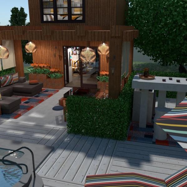 fotos casa terraza decoración exterior paisaje ideas