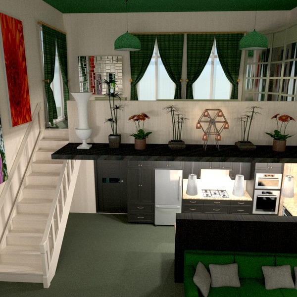 zdjęcia wystrój wnętrz kuchnia gospodarstwo domowe mieszkanie typu studio pomysły