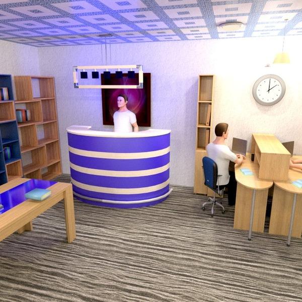 fotos mobílias decoração escritório ideias