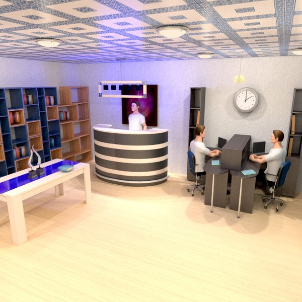 fotos mobílias decoração escritório despensa ideias
