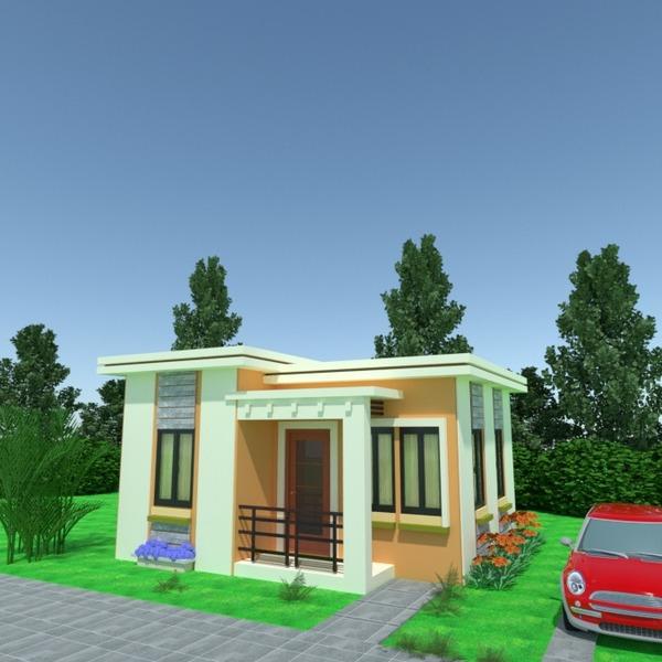 foto casa angolo fai-da-te garage illuminazione paesaggio architettura idee