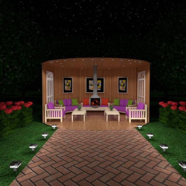 zdjęcia dom taras meble wystrój wnętrz na zewnątrz oświetlenie krajobraz architektura pomysły