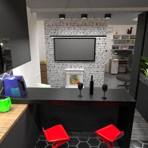 fotos apartamento muebles salón cocina estudio ideas