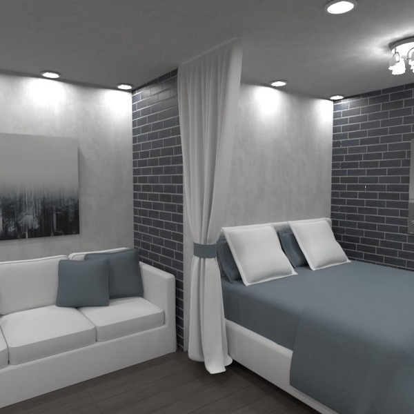 nuotraukos butas miegamasis svetainė virtuvė biuras idėjos