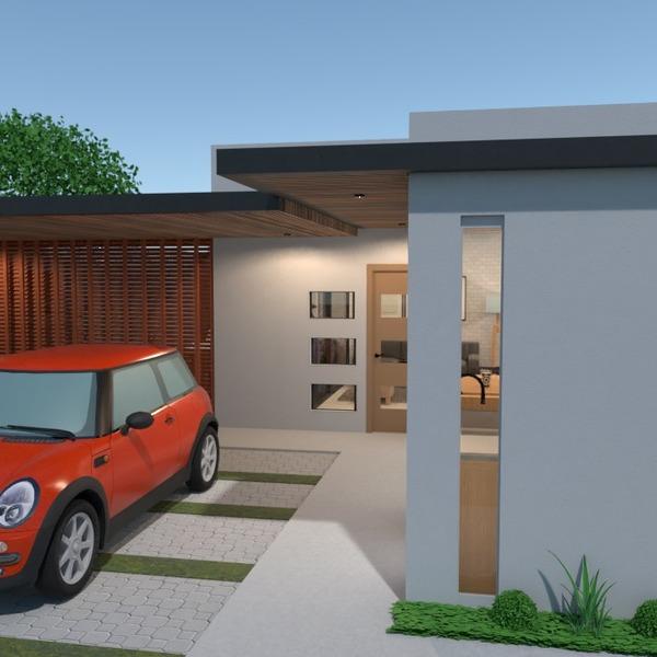 zdjęcia dom taras garaż wejście pomysły