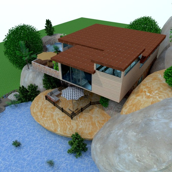 идеи дом терраса улица ландшафтный дизайн архитектура идеи