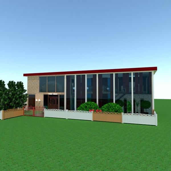 fotos casa terraza exterior paisaje arquitectura ideas