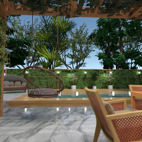 fotos casa muebles decoración exterior iluminación ideas