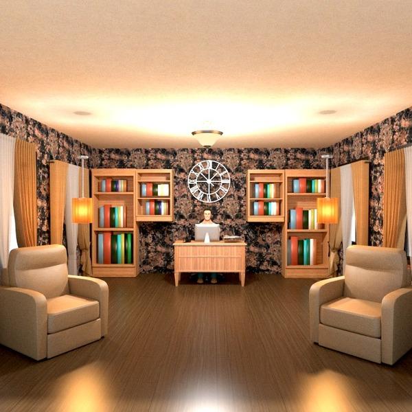 nuotraukos butas namas baldai dekoras biuras idėjos