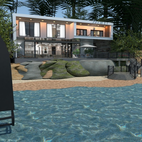 nuotraukos namas dekoras miegamasis kraštovaizdis аrchitektūra idėjos