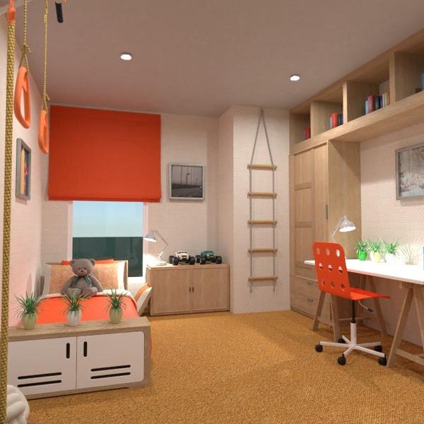 nuotraukos baldai miegamasis vaikų kambarys idėjos