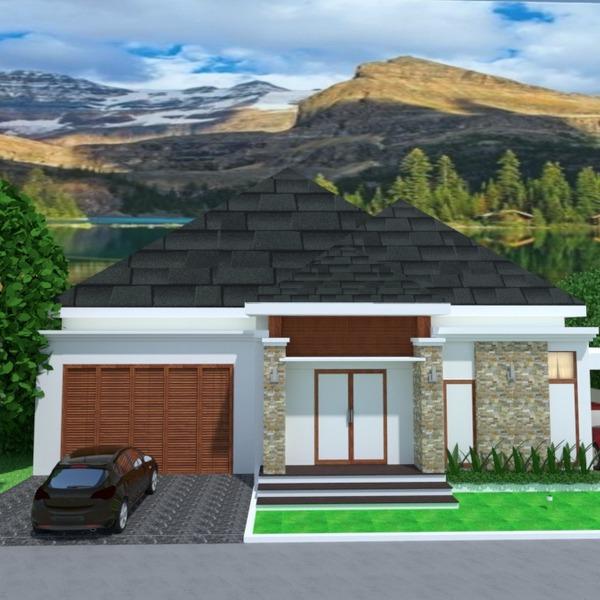 foto casa decorazioni garage esterno illuminazione paesaggio architettura idee