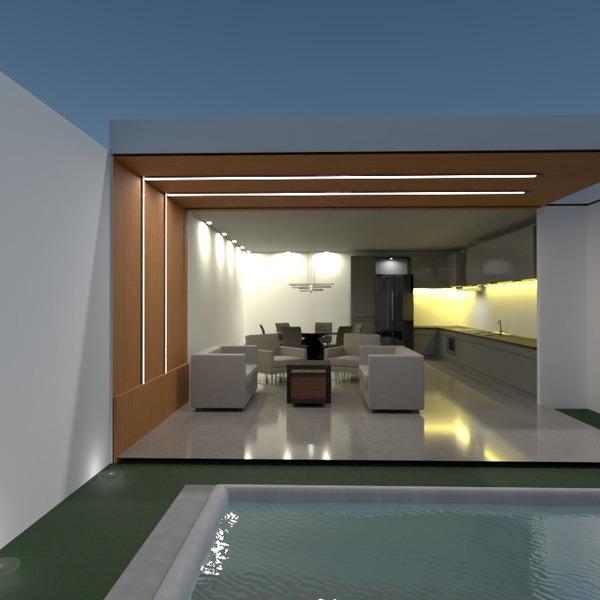 nuotraukos namas terasa dekoras apšvietimas renovacija idėjos