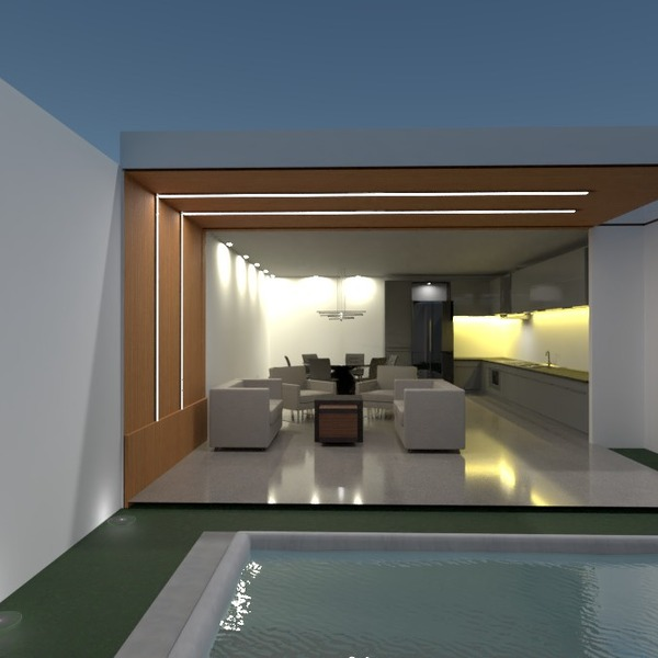 fotos casa terraza decoración iluminación reforma ideas