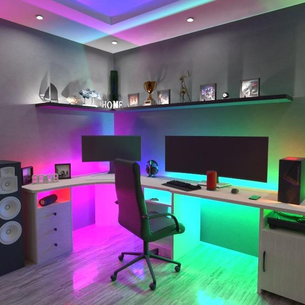 photos maison salon bureau eclairage studio idées