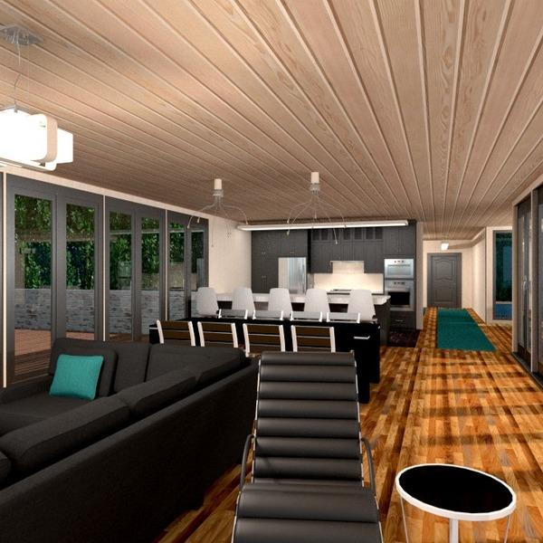 nuotraukos baldai dekoras svetainė virtuvė apšvietimas idėjos
