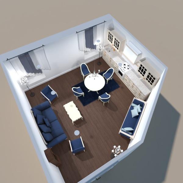 zdjęcia meble pokój dzienny kuchnia jadalnia architektura pomysły
