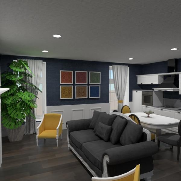 nuotraukos dekoras svetainė virtuvė аrchitektūra idėjos