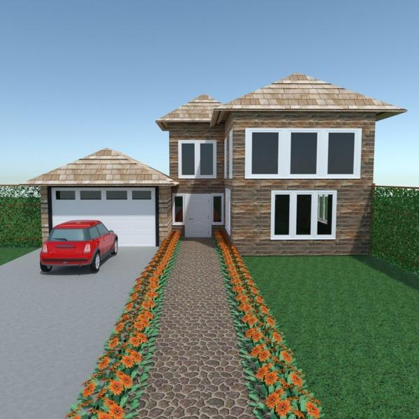 photos house garage landscape architecture ideas