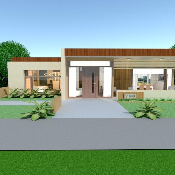 foto casa veranda illuminazione rinnovo paesaggio vano scale idee