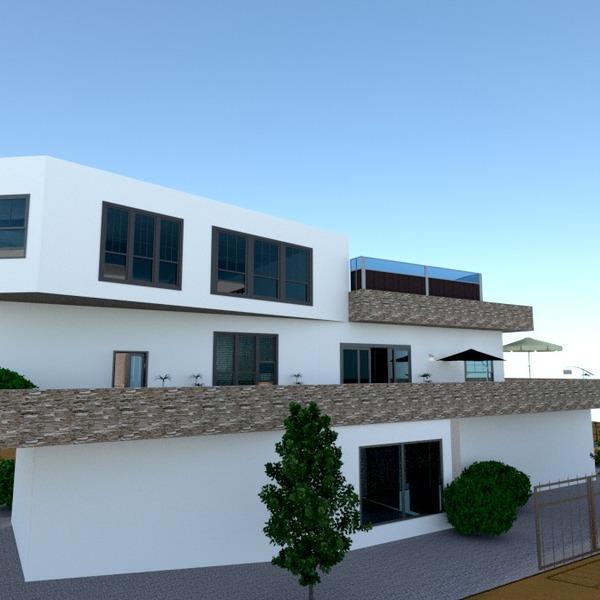 zdjęcia dom taras architektura pomysły