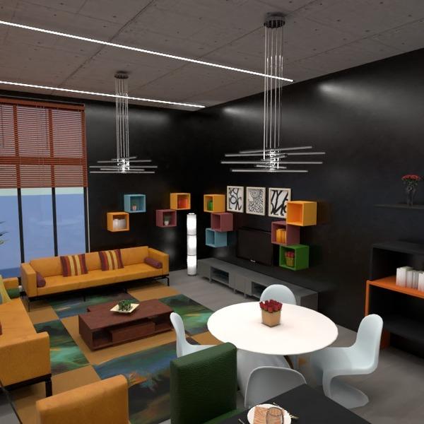 photos appartement meubles salon cuisine eclairage idées