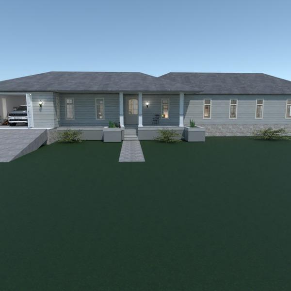 идеи дом гараж ландшафтный дизайн идеи